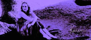 Artistic Purple image of Karen