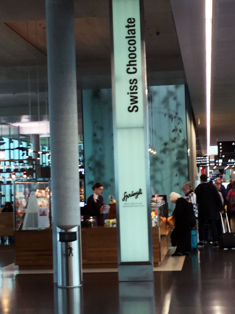 Swiss Chocolate Airport