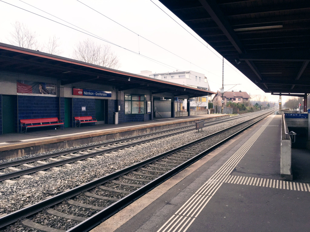 Train Station Greifensee 1