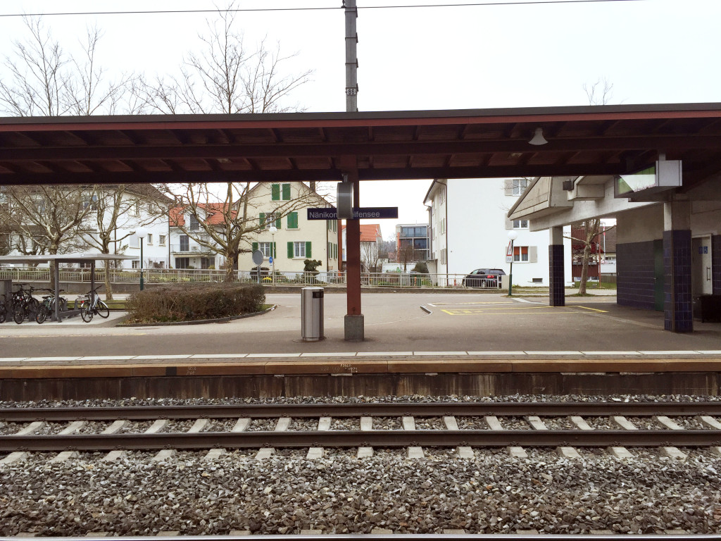Train Station Greifensee 2