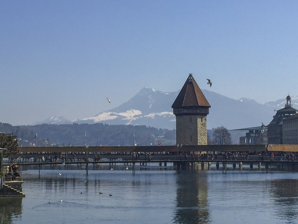 Mountains and water in Luzern