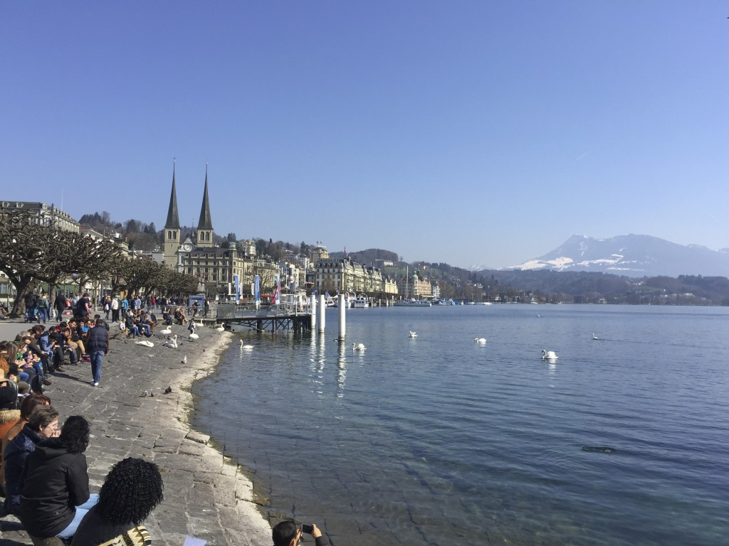 Luzern water view