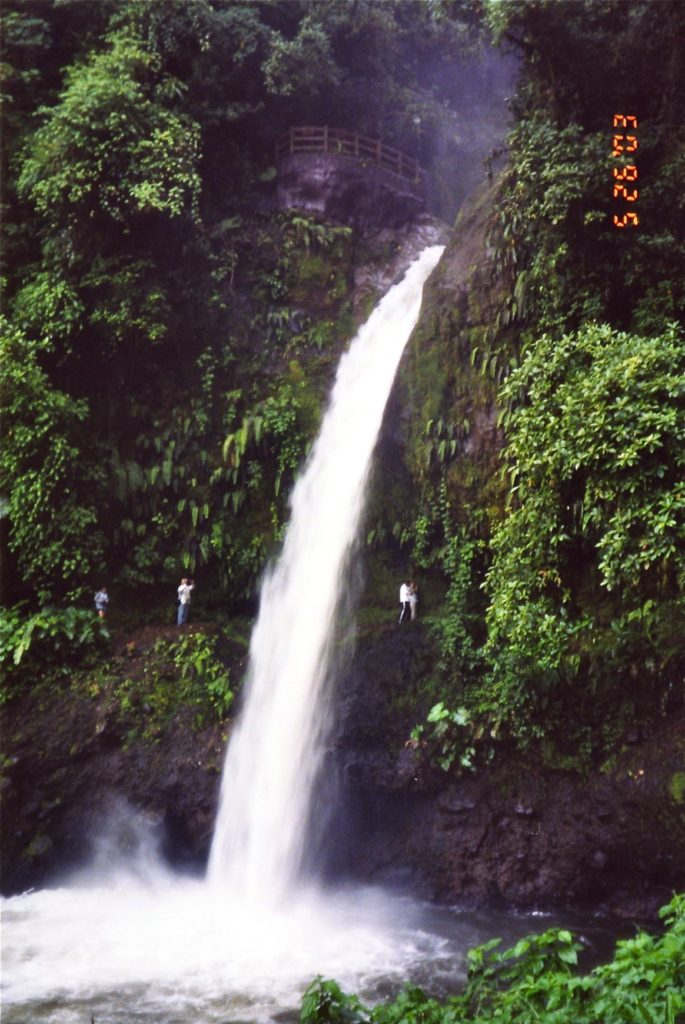 Waterfall in Costa Rica 2