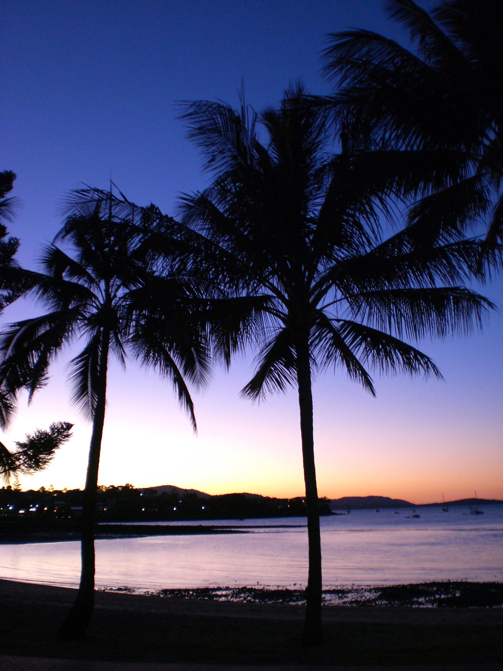 Sunset at Airlie Beach